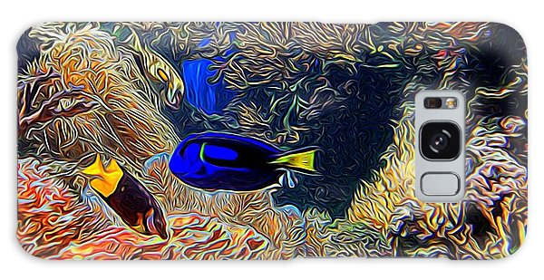Aquarium Adventures In Abstract Galaxy Case