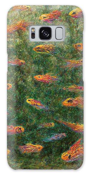 Goldfish Galaxy Case - Aquarium by James W Johnson