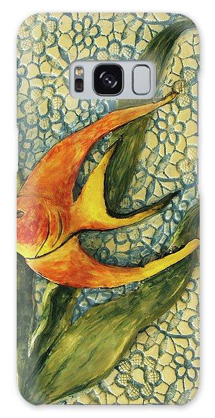 Aquarium On The Wall Galaxy Case by Itzhak Richter