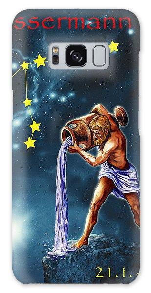 Galaxy Case - Aquarius by Johannes Margreiter