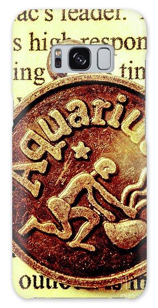 Aquarius Zodiac Sign Galaxy Case by Jorgo Photography - Wall Art Gallery