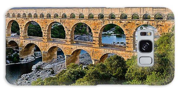 Aqueduct Pont Du Gard Galaxy Case