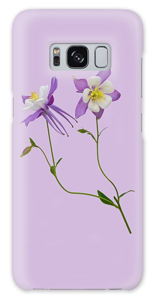 Aquilegia Specimen Galaxy Case by Jane McIlroy