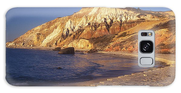 Aquinnah Gay Head Cliffs Galaxy Case by John Burk
