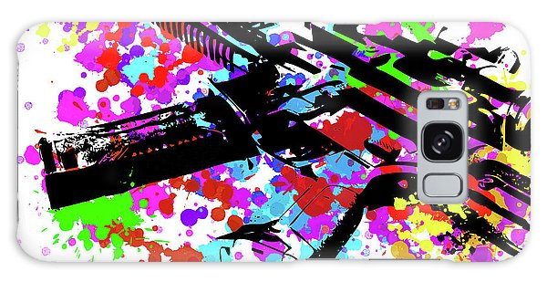Semis Galaxy Case - Ar15 Pop Art by Ricky Barnard
