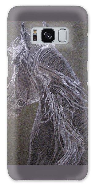 Arab Horse Galaxy Case by Melita Safran