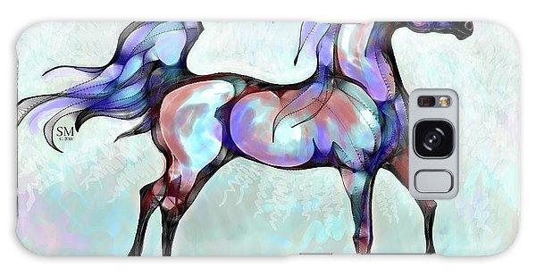 Arabian Horse Overlook Galaxy Case