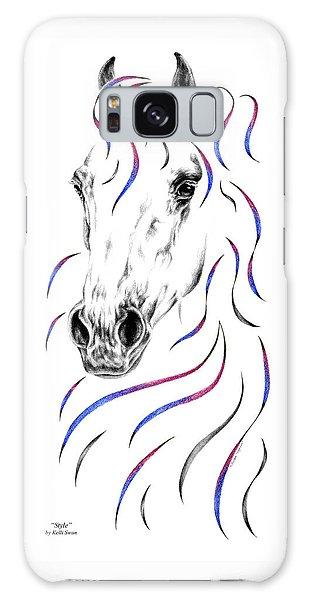 Arabian Horse Style Galaxy Case by Kelli Swan