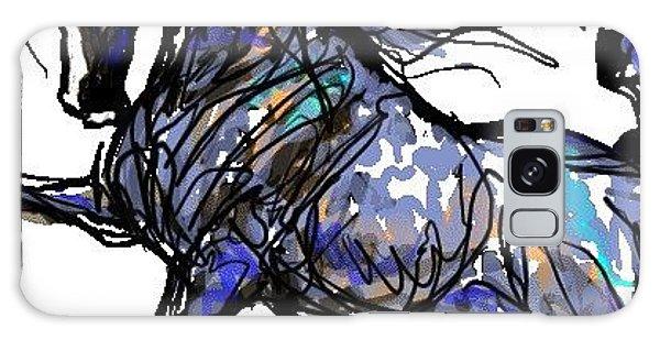 Arabian In Blue Galaxy Case