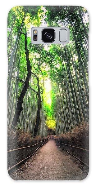 Arashiyama In Kyoto, Japan Galaxy Case
