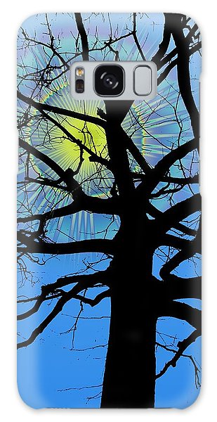 Arboreal Sun Galaxy Case by Tim Allen