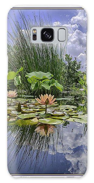 Arboretum Pond Galaxy Case