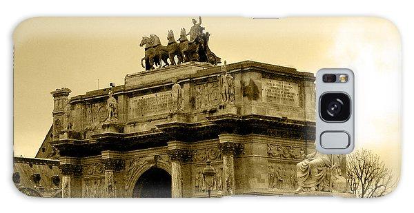 Arc De Triomphe Du Carrousel  Galaxy Case