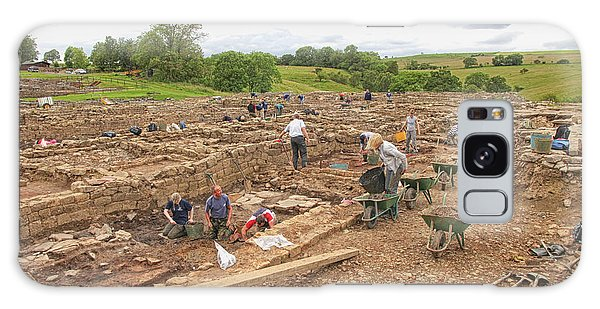 Archaeologists At Work At Roman Vindolanda Galaxy Case