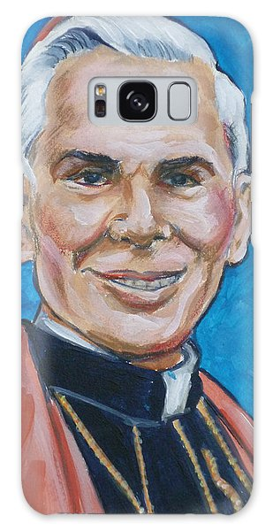 Archbishop Fulton J. Sheen Galaxy Case by Bryan Bustard