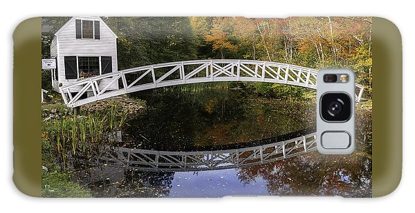 Arched Bridge-somesville Maine Galaxy Case