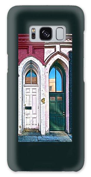 050 - Door One And Door Too Galaxy Case