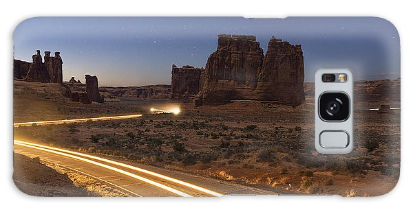 Arches Evening Exit Galaxy Case