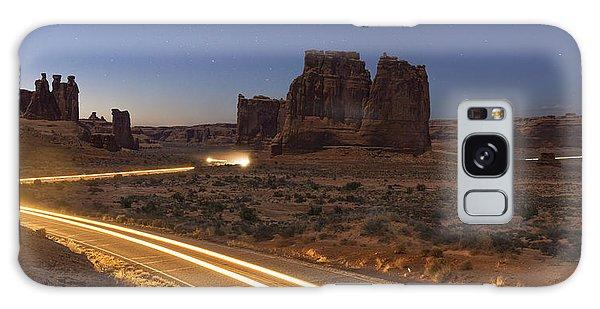 Arches Evening Exit Galaxy Case