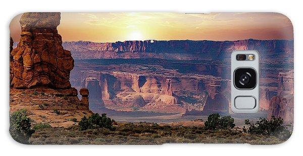 Arches National Park Canyon Galaxy Case