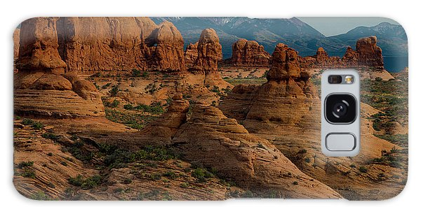 Galaxy Case featuring the photograph Arches National Park by Gary Lengyel