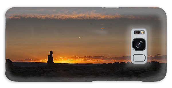 Arches National Park Sunset Galaxy Case