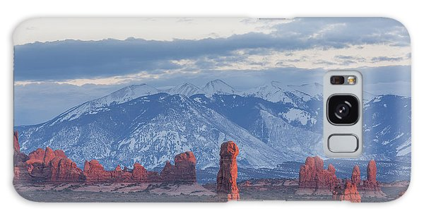 Arches National Park, Sunset Galaxy Case