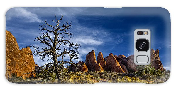 Arches National Park Galaxy Case by Wendell Thompson