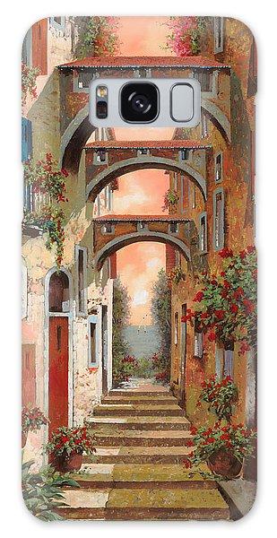 Town Galaxy Case - Archetti In Rosso by Guido Borelli