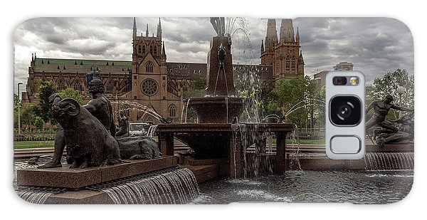 Archibald Fountain And St Mary's Cathedral Galaxy Case