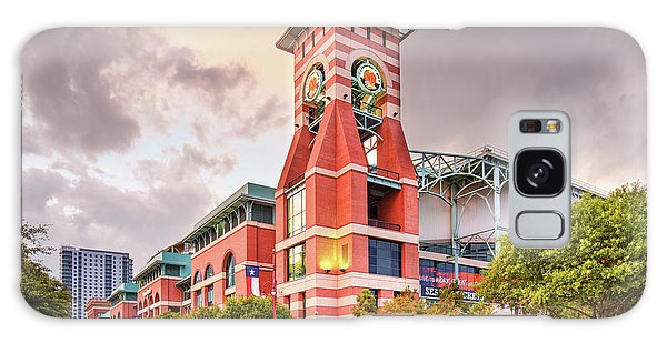 Architectural Photograph Of Minute Maid Park Home Of The Astros - Downtown Houston Texas Galaxy Case