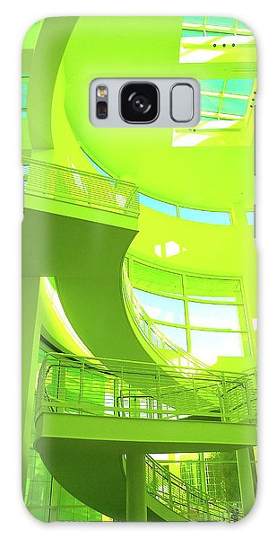 Green Splash Architecture Galaxy Case