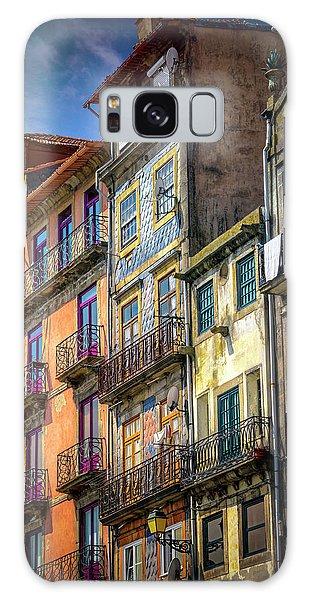 Architecture Of Old Porto Portugal  Galaxy Case