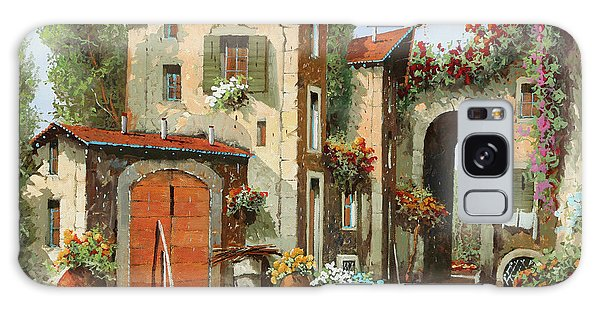 Arched Galaxy Case - Arco Finale by Guido Borelli