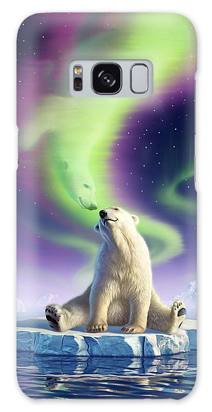 Reflections Galaxy Case - Arctic Kiss by Jerry LoFaro