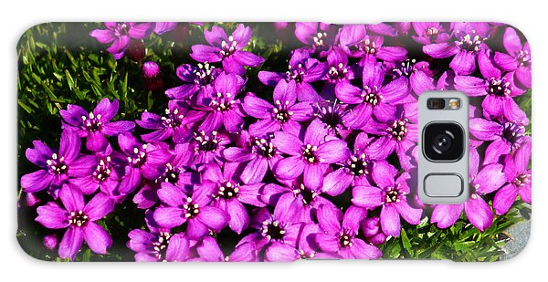 Arctic Wild Flowers Galaxy Case