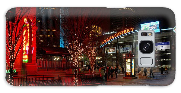 D66l-4 Arena District Photo Galaxy Case