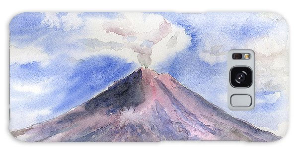 Movie Galaxy Case - Arenal Volcano Costa Rica by Arline Wagner