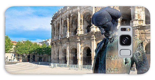 Arenes De Nimes Bullfighter Galaxy Case
