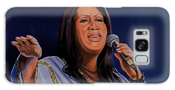 Harlem Galaxy S8 Case - Aretha Franklin Painting by Paul Meijering