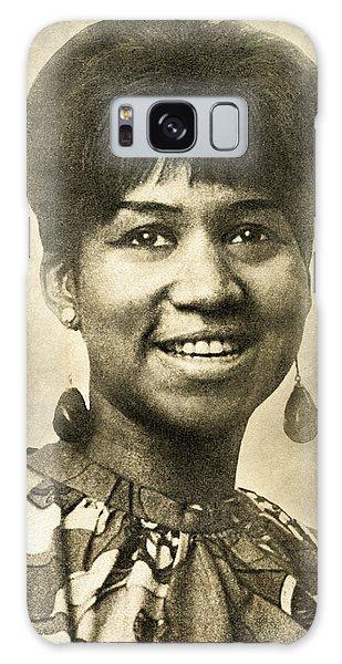 Aretha Franklin Queen Of Soul Galaxy Case