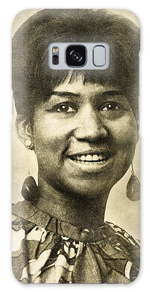 Aretha Franklin Queen Of Soul Galaxy Case