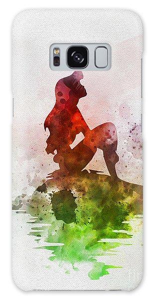 Walt Disney Galaxy Case - Ariel On The Rock by My Inspiration