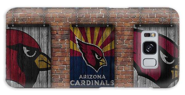 Arizona Cardinals Brick Wall Galaxy Case by Joe Hamilton