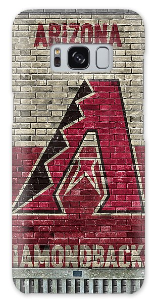 Arizona Diamondbacks Brick Wall Galaxy S8 Case