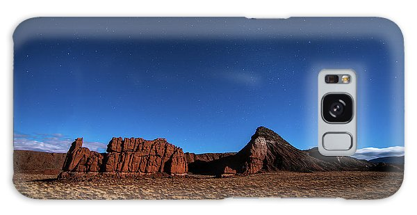 Arizona Landscape At Night Galaxy Case