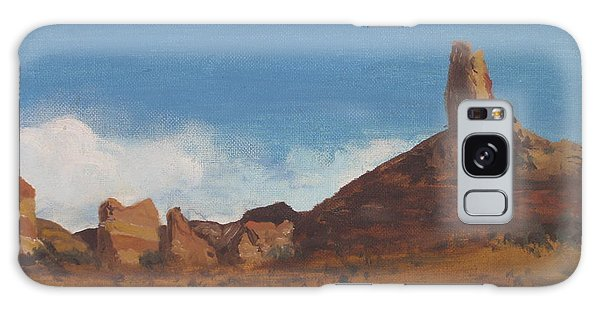 Arizona Monolith Galaxy Case by Suzette Kallen