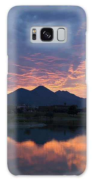Arizona Sunset 2 Galaxy Case