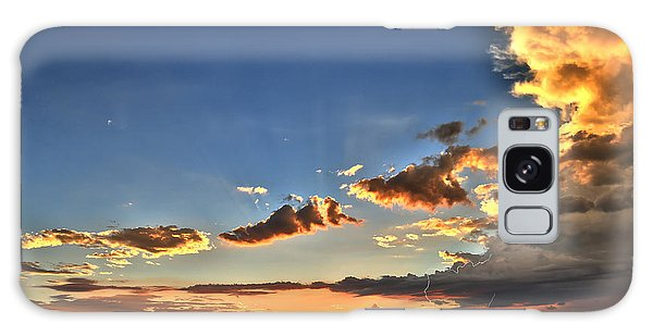 Arizona Sunset Storm Galaxy Case by James Menzies