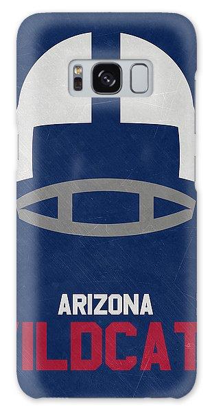 March Galaxy Case - Arizona Wildcats Vintage Football Art by Joe Hamilton